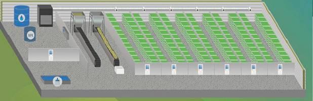 shema - Схема гидропонной установки