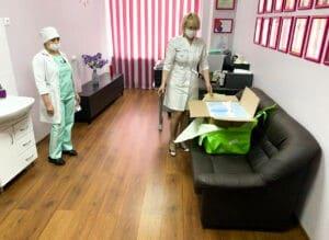 IMG 20200319 WA0004 300x219 - Агроновия посетила больницу Св.Георгия в Санкт-Петербурге